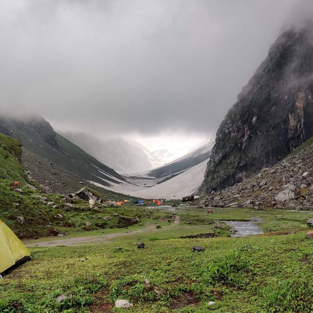 Hampta Pass Journey