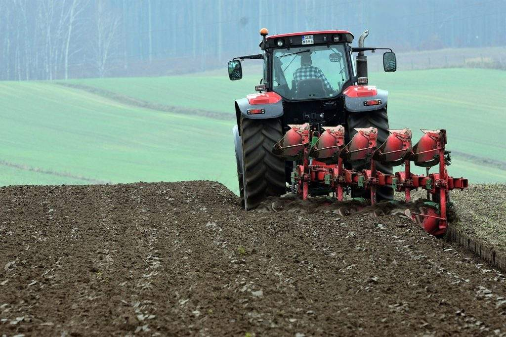 Tractors are essential for growers.