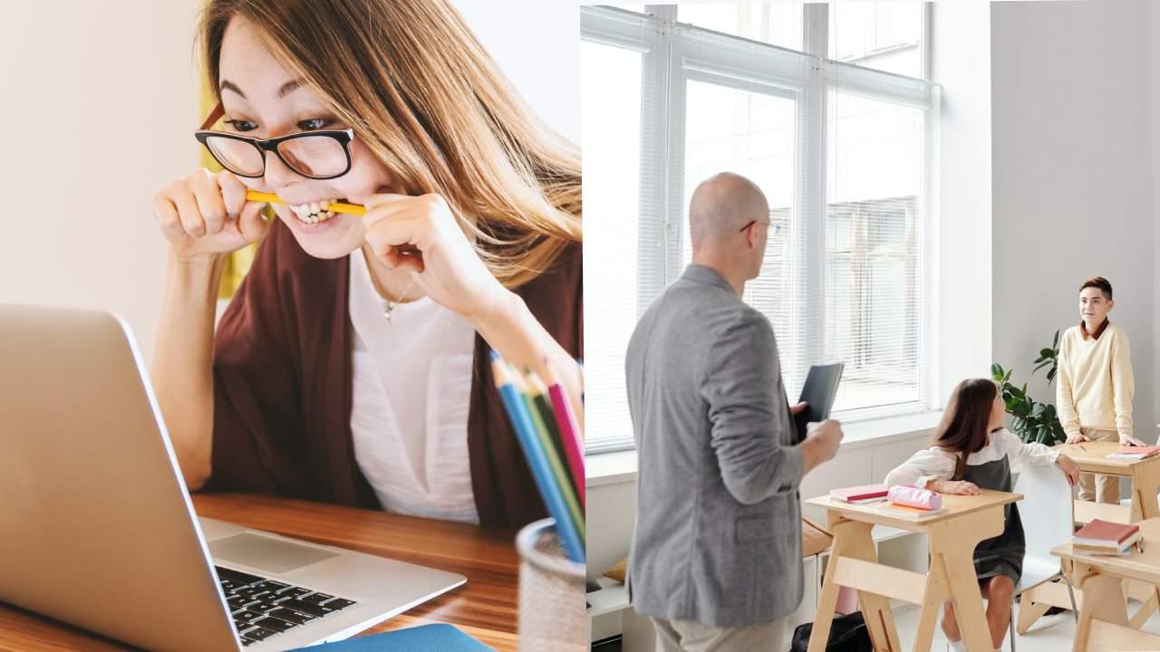 Online Class Easier Than a Regular Class