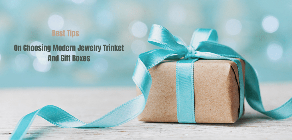 Jewelry Trinket And Gift Boxes
