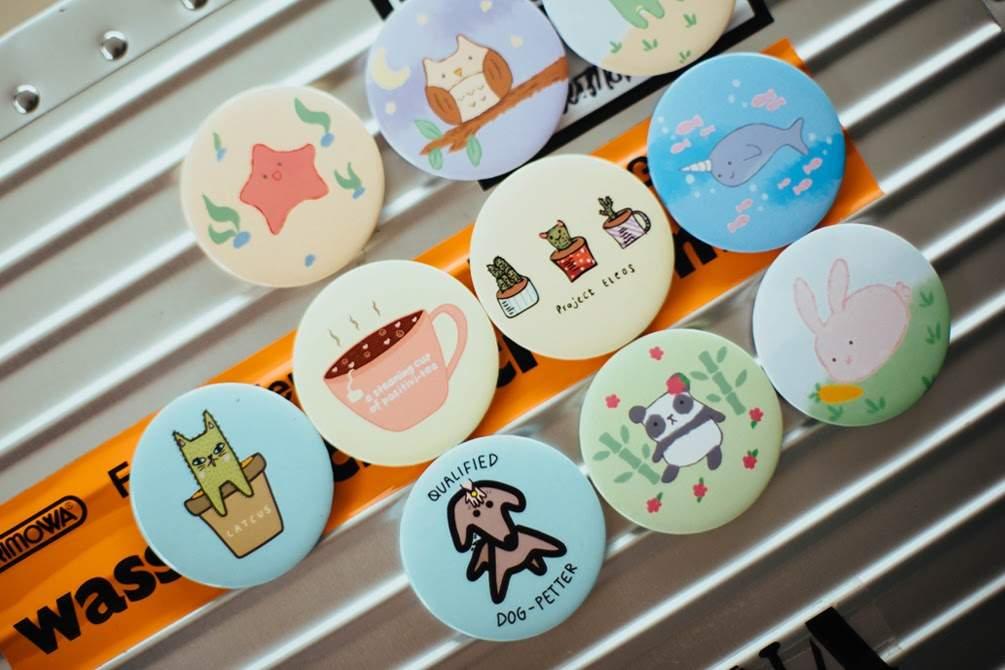 Customize Design Pin Buttons
